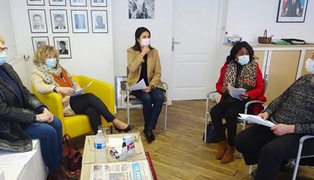 🗞 Article du journal La Manche Libre journée des droits des femmes.