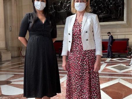 Echange avec Barbara Pompili, Ministre de la Transition écologique.