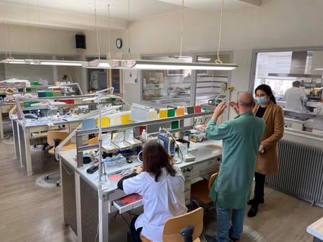 Visite du centre de prothèse dentaire
