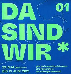 Poster DA SIND WIR_ 012021
