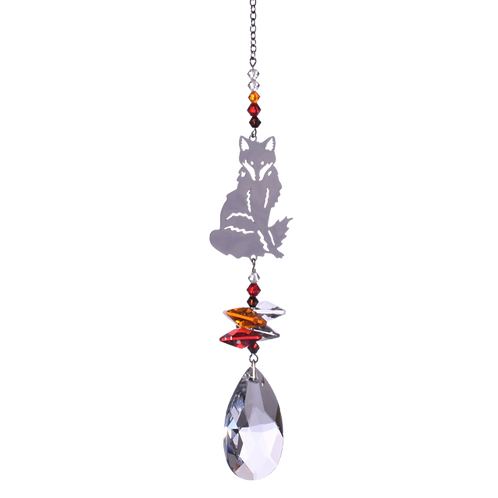 Fox Hanging Crystal
