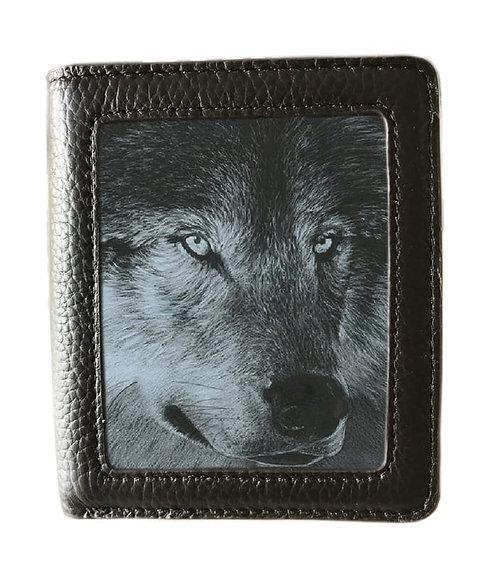 Dark Wolf Wallet Lenticular 3D