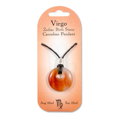 Virgo, Zodiac Birth Stone, Necklace / Bracelet / Keyring (Carnelian)