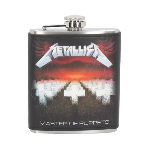 Metallica - Master of Puppets Hip Flask