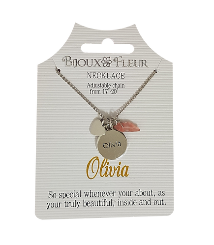 Names with O Personalised Necklace