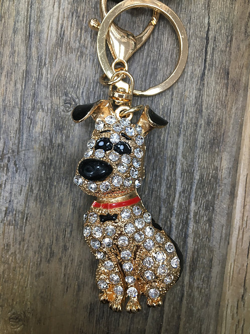 Dog Keyring/ Bag Charm