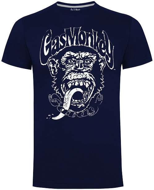 "Gas Monkey ""distressed Monkey"" T-shirt"
