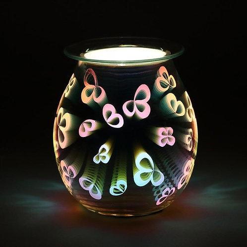 3D Flower Petal Light up Electric Oil Burner