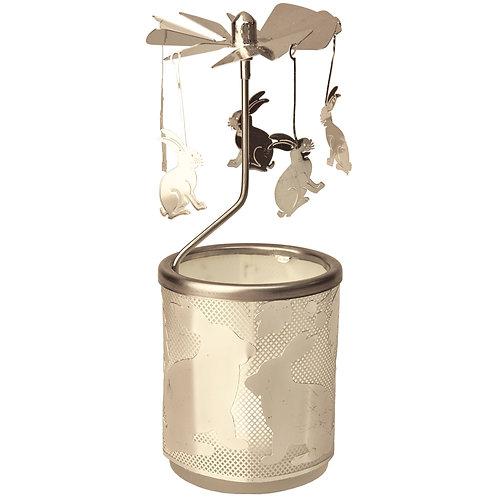 Rabbit Tea-light Carousel