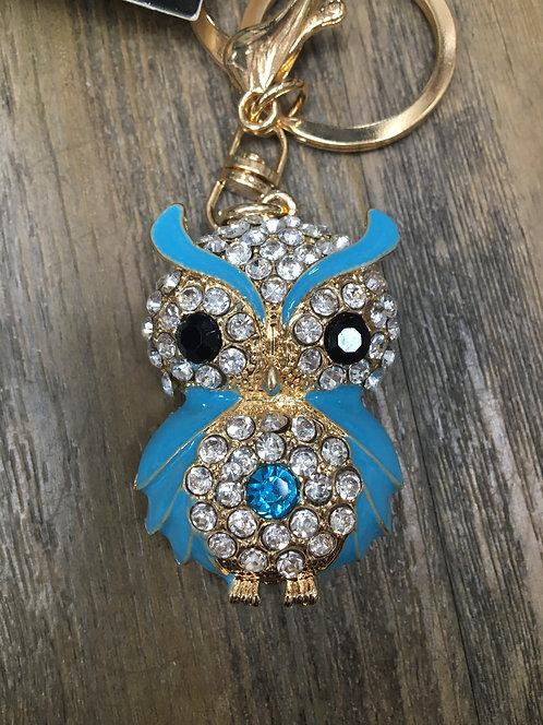 Owl Keyring/ Bag Charm