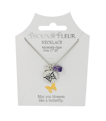 Butterfly Personalised Necklace