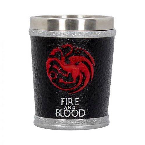 Fire and Blood Shot Glass
