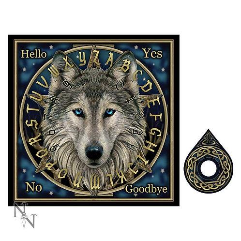 Wild One Wolf Spirit Board By LIsa Parker