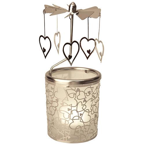 Heart Tea-light Carousel
