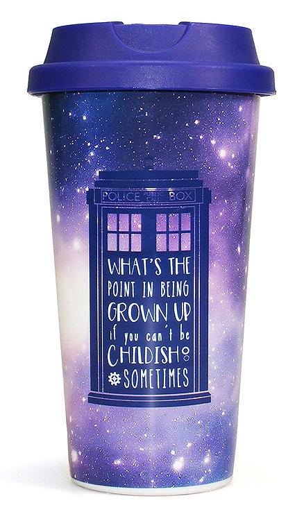 Doctor Who Travel Mug - Galaxy