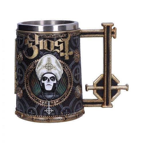 Licensed Ghost Papa Emeritus III Gold Tankard