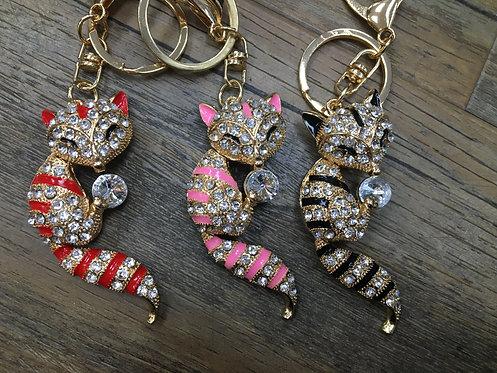 Cat Keyring/ Bag Charm
