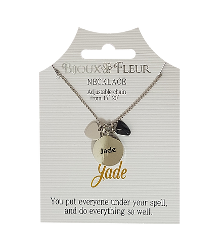Name with J Personalised Necklace
