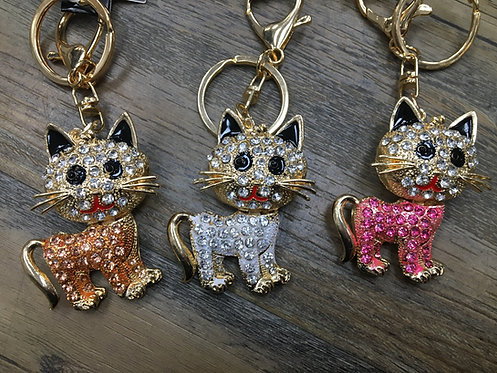Cat Keyring/ Bag Charm