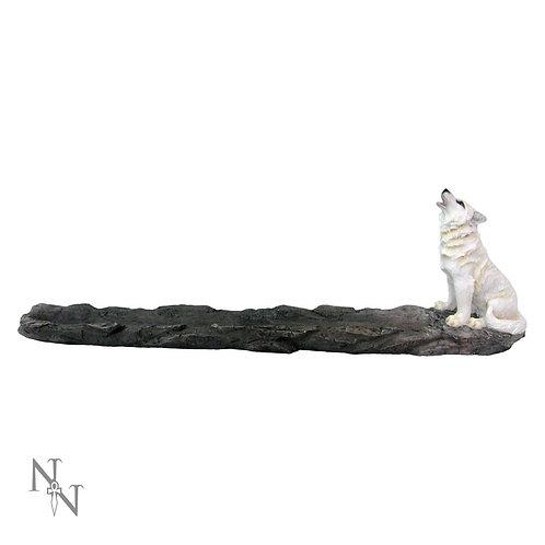 Wolf White incense Burner