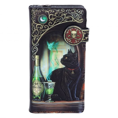 Absinthe Embossed Purse (LP) 18.5cm