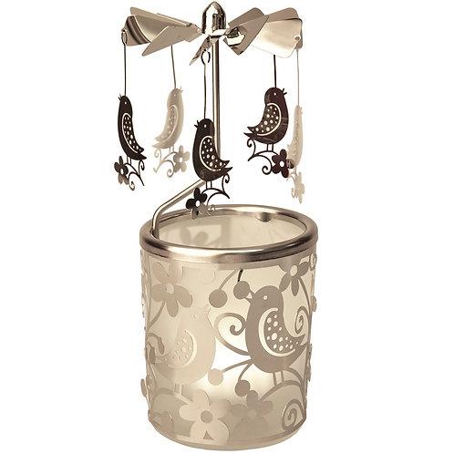 Bird Tea-light Carousel