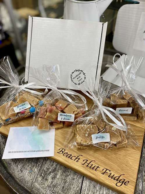 Gift Box Fudge with 4 Flavours