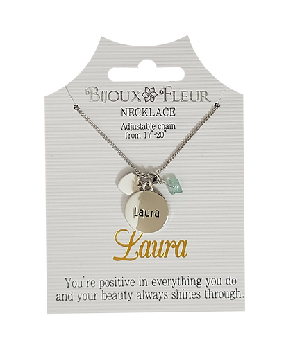 Names with L Personalised Necklaces