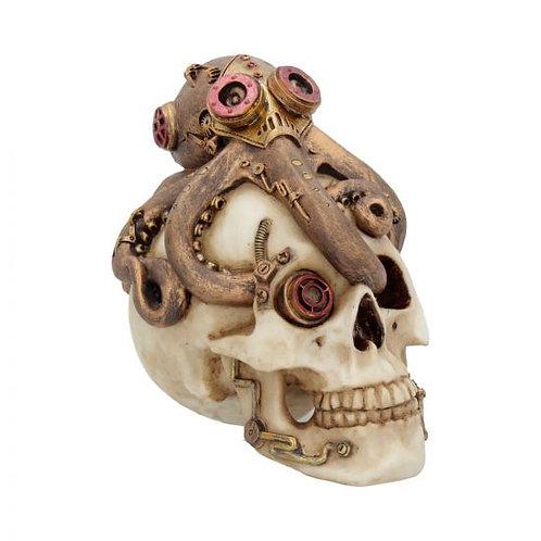 Octo Craniotomy Steampunk Octopus Skull