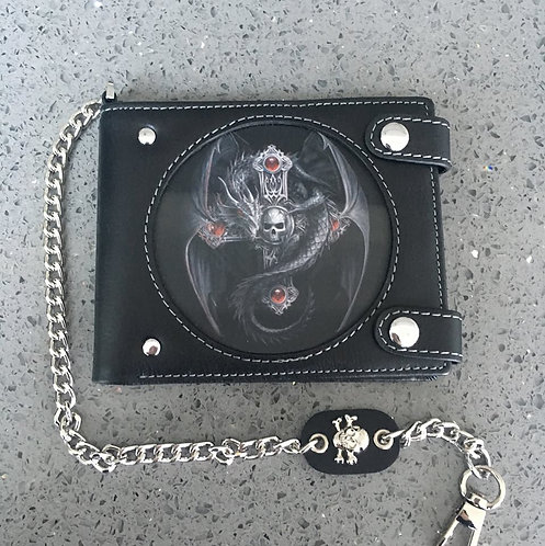 Anne Stokes Bad To The Bone 'Gothic Guardian' Wallet - 3D Lenticular