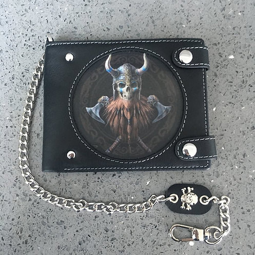Anne Stokes Bad To The Bone 'The Viking' Wallet - 3D Lenticular