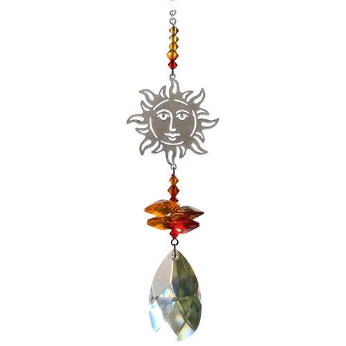 Sun Hanging Crystal