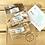 Thumbnail: Vegan fudge Letter Box (Small)