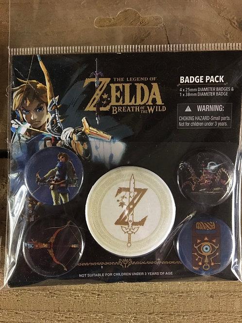 Zelda Badges