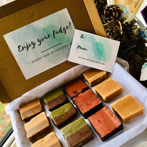 Letter Box Fudge with 4 Flavours