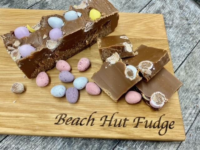 Chocolate Mini Egg Fudge