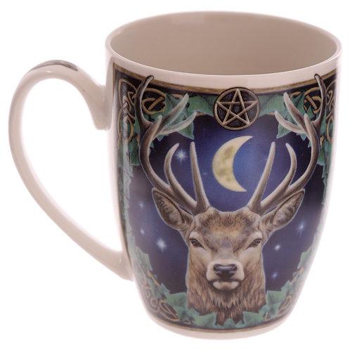 The Emperor Stag Lisa Parker Mug