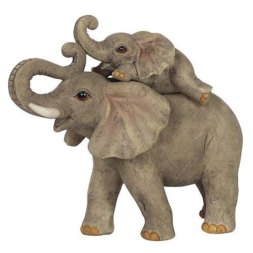 Elephant Adventure Mother and Baby Elephant