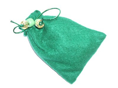 Witches Charm bag for Prosperity