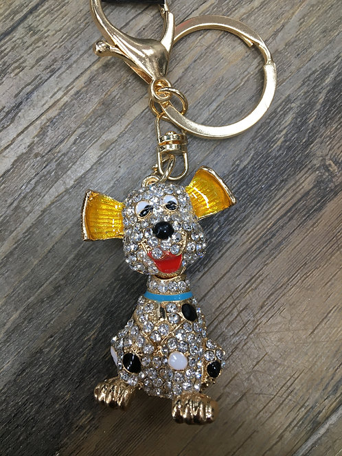 Dog Keyring/ Bag Charm