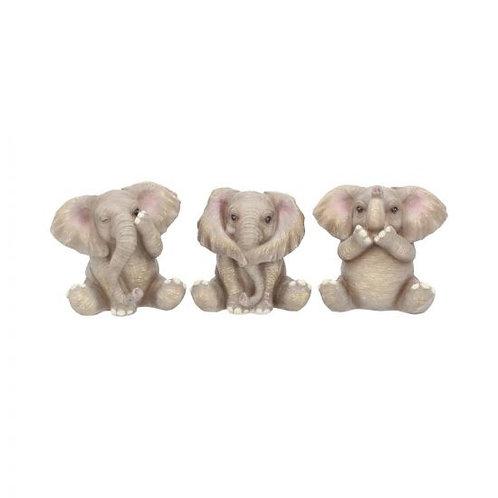 Three Baby Elephants