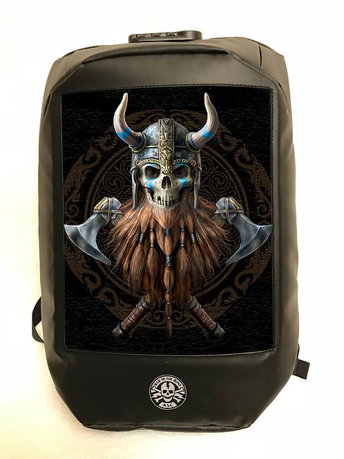 Anne Stokes Bad To The Bone 'The Viking' Backpack - 3D Lenticular