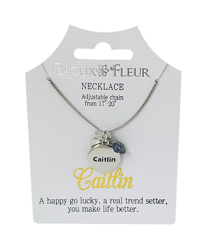 Names with C Personalised Necklaces