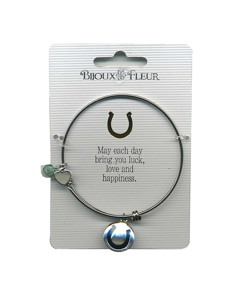 Luck Personalised Bangle