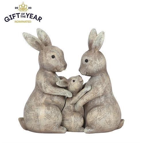 Fluffle Family Bunny Ornament
