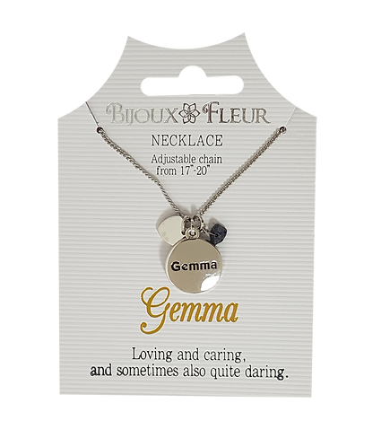 Names with G Personalised Necklaces