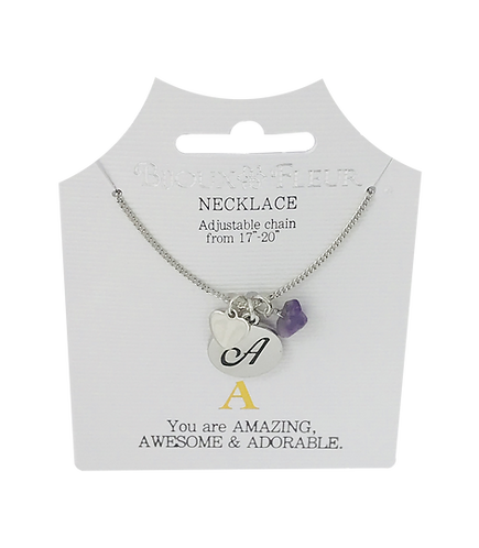 Initial A - O Personalised Necklaces
