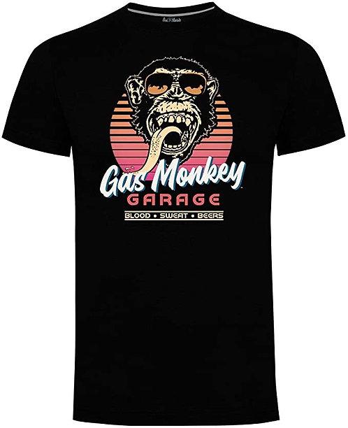 """Gas monkey """"Retro shades"""" T-shirt"""