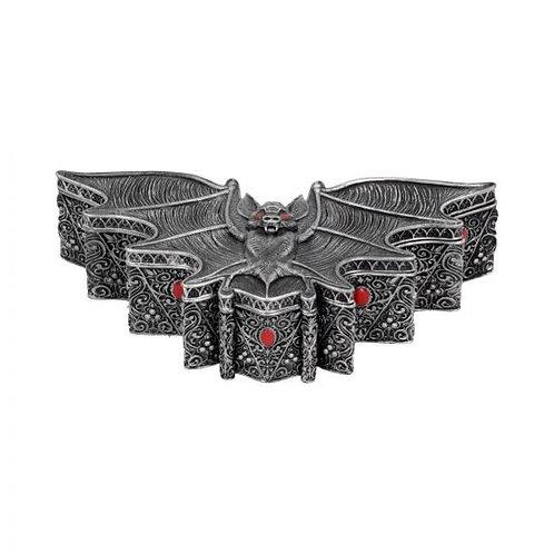 Carpe Noctem Dracula Vampire Bat Trinket Box
