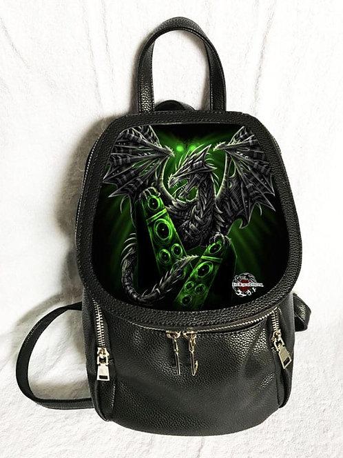 She Black Dragon Backpack 3D Lenticular
